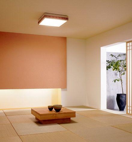 パナソニック 透木影和風シーリングライト(和室) 実例・設置イメージ ...