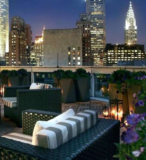 Rooftop views of NYC