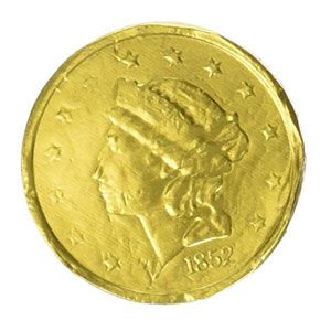 Large Milk Chocolate Gold Coins