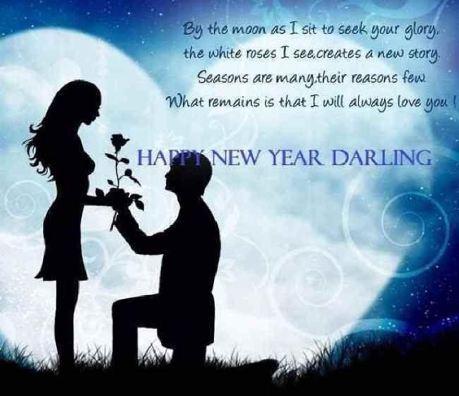 romantic happy new year my love quotes for him free download