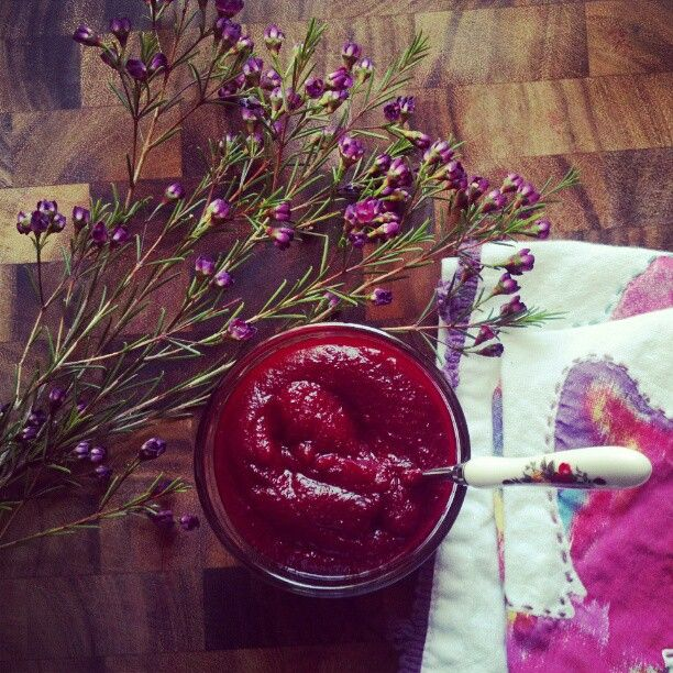 beets & blueberry mash baby food recipe (6 months+)