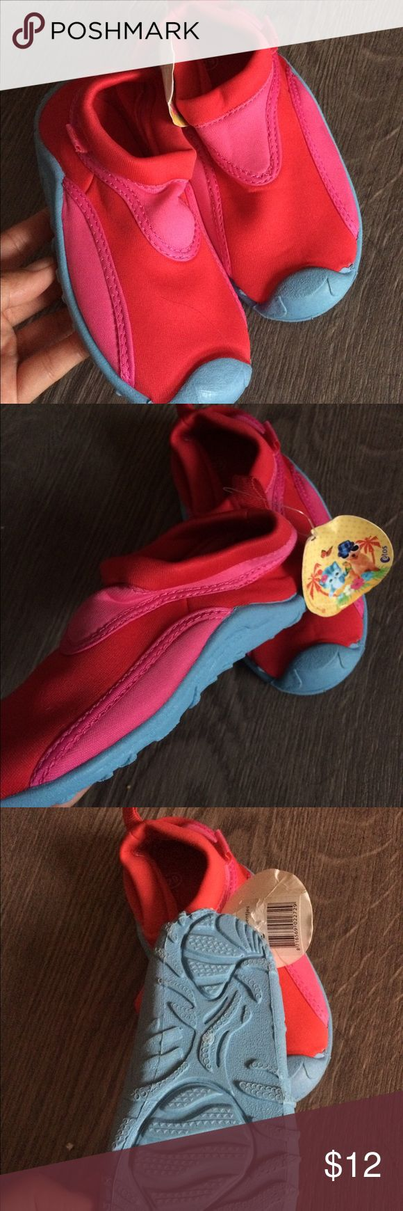 Brand new little girl's water shoes Brand new with tag, size marked as 29, very comfy etos Shoes