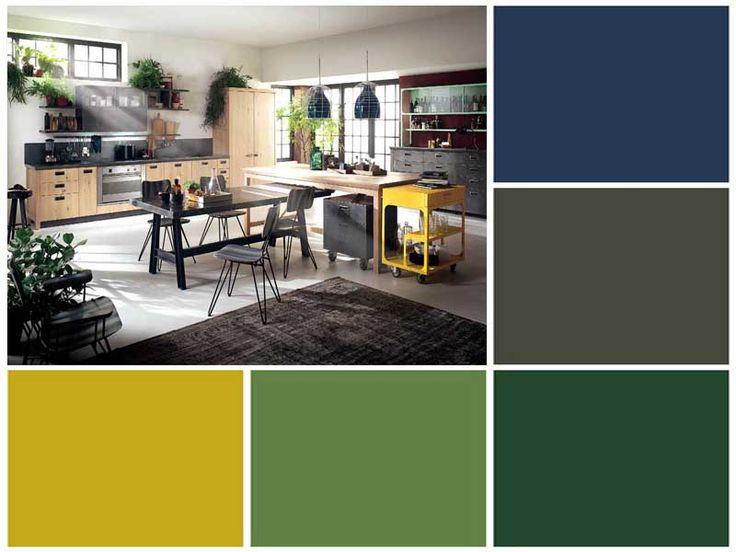 Renovar la cocina con color: Ideas con imágenes cancheras de colores para cocinas