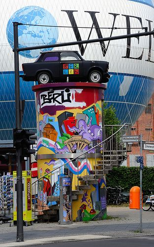 colourful berlin and the good old trabi former east german auto maker germany berlin. Black Bedroom Furniture Sets. Home Design Ideas