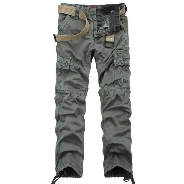 Kossedeng Cotton Washed Cargo Slim fit Twill Pant with Bottoms... ($22) ❤ liked on Polyvore featuring pants, cotton pants, cotton drawstring pants, slim fit cargo pants, slim cargo pants and slim fit pants