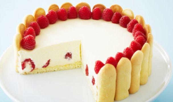 Elegant Raspberry Lemon Torte