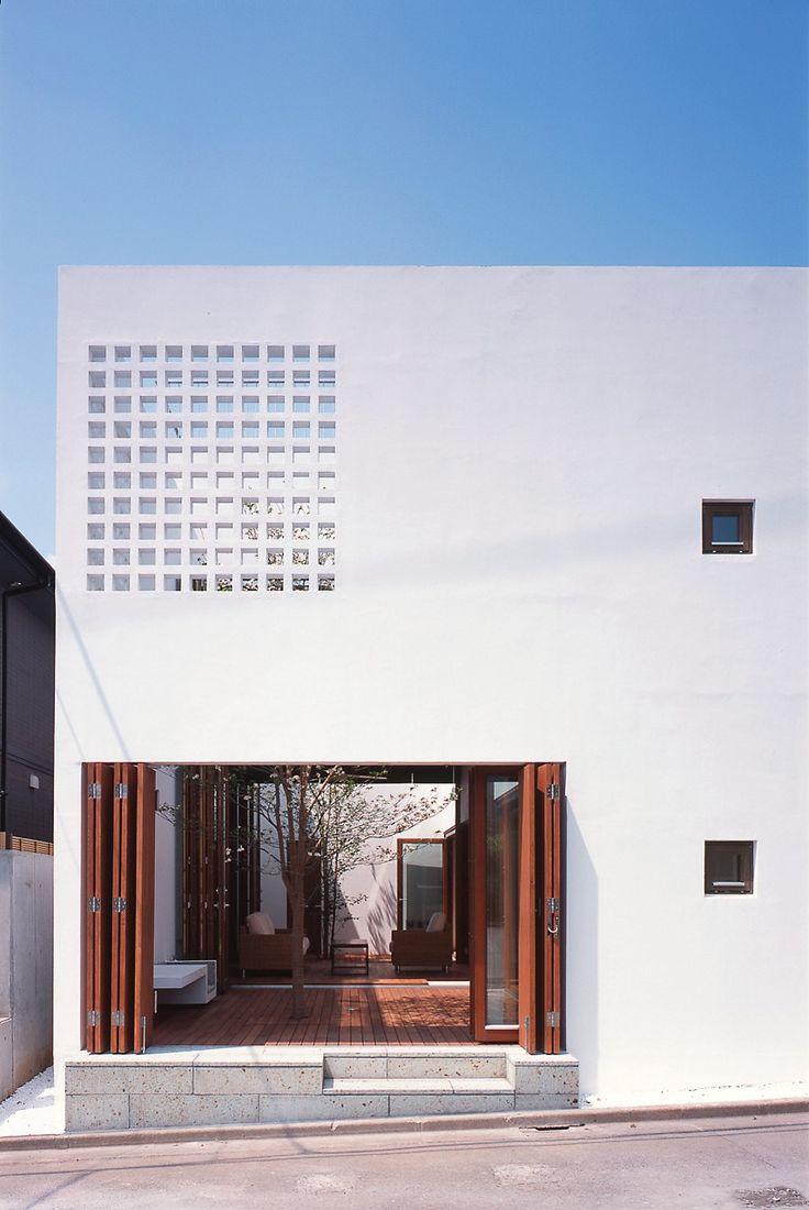 Yashima architect and associates, Kamiogi house