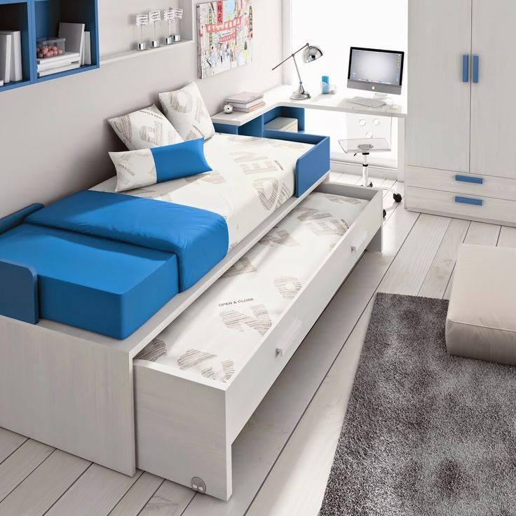 Les 25 meilleures id es de la cat gorie lits gigognes sur pinterest chambres avec lits - Qu est ce qu un lit gigogne ...