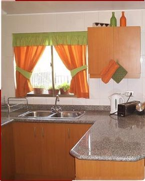 Cortinas para cocina ideas para el hogar pinterest - Ideas cortinas cocina ...
