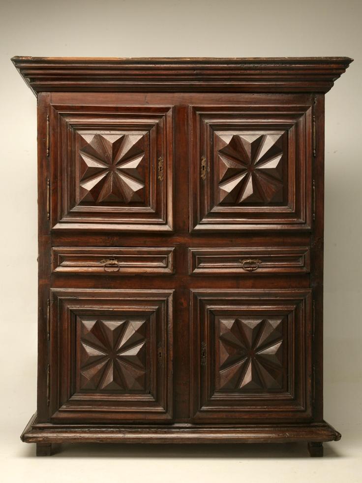 18th Century Louis XIII Cupboard