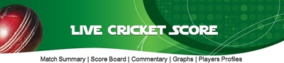 Live Cricket Score, Cricket Summary, Live Cricket Commentary, Cricket Graphics, Live Cricket Matches, Upcoming Matches Schedule, Recent Matches Results, Complete Players Profile, Batting Analysis, Bowling Analysis.