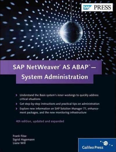 Sap Netweaver As Abap—system Administration