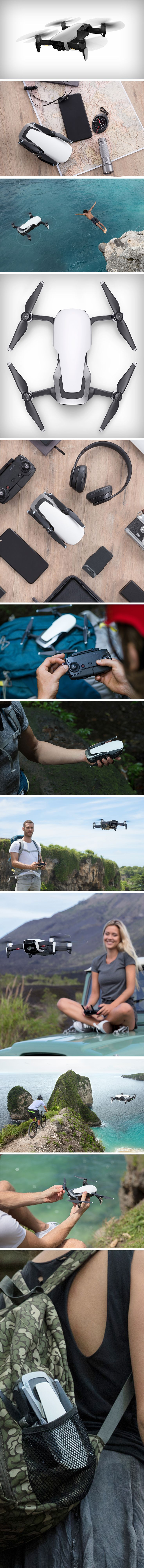 The good guys at DJI have gone another step into the future and provided us with the most dynamic three-axis gimbal assisted drone, the Mavic Air, weighing around 1 pound and has the ability to shoot videos in a stunning 4K. The pictures of this are insane, its minuscule, how on earth can these be jam-packed full of goodness, capture insanely high-quality images and yet be about the same size as a pea. BUY NOW!