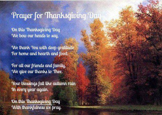 Best 25+ Prayer For Thanksgiving Ideas On Pinterest