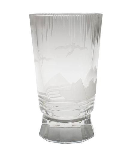 Yrjö Rosola (Rosvall) 1904 - 1989), Karhula, 1932, kristallihiottua lasia