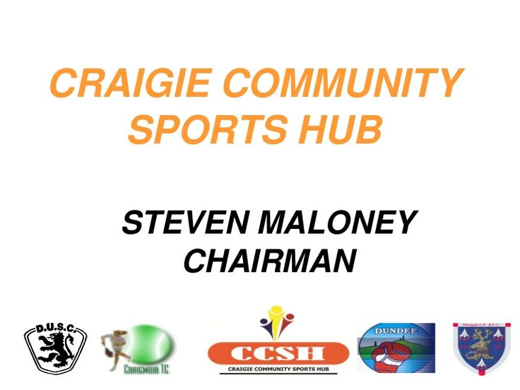 craigie-community-sports-hub-steven-maloney by Scottish FA via Slideshare