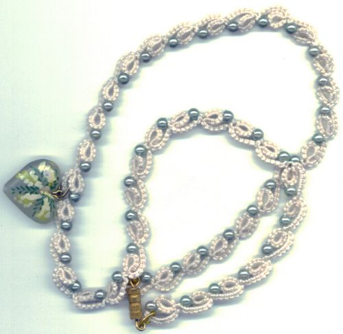 """TATTED JEWELRY... Gorgeous!   ~  collanaverde.jpg. 