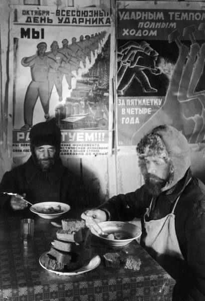 """Magnitogorsk, Russia, 1931...that juxtaposition of the old Russia and the new USSR always fascinates me...peasant """"shock workers""""...!"""
