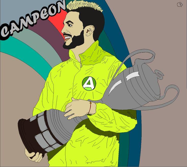 Mateo Carvajal #teo #campeon #guerrero #thebest #mateocarvajal #art #arte #artedigital #dibujodigital #dibujo