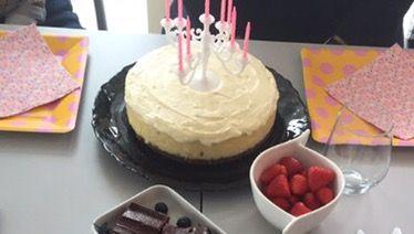 Cheesecake med vanilje og hvidchokolade-mousse   Vores lille hjem