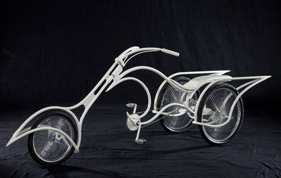 Josh Hadar's One-Of-A-Kind Custom Eco- Friendly Bikes.