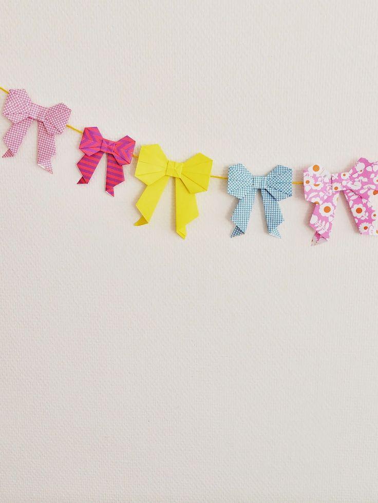 Origami bow for Moodkids   Wimke   DIY   Recepten   Uittips
