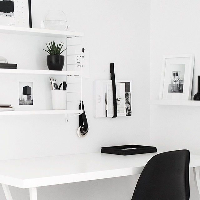 Minimalist workspace / via @unfinishedhome