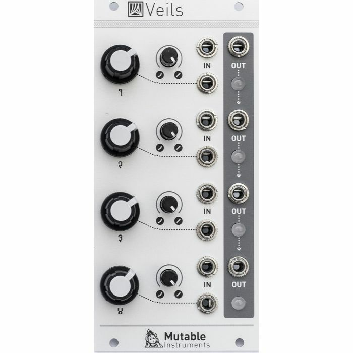 Buy Mutable Instruments Veils Quad VCA & Mixer Module at Juno Records. In stock now for same day shipping. Mutable Instruments Veils Quad VCA & Mixer Module £145 from Juno.co.uk