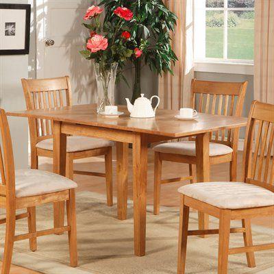 East West Furniture NFT Norfolk Rectangular Dining Table Part 81