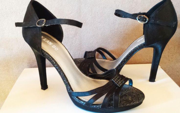 Calando Sandaletten schwarz - kleiderkreisel.de