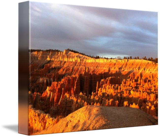 """""""Sunrise at Bryce"""" by Anne Berry-Smith, Adelaide //  // Imagekind.com -- Buy stunning fine art prints, framed prints and canvas prints directly from independent working artists and photographers."""
