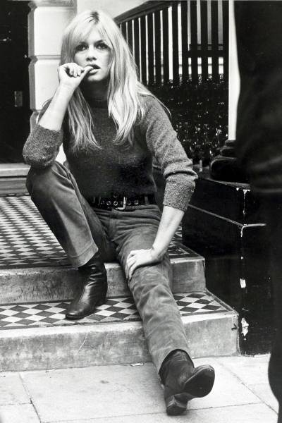 Brigitte Bardot in London, Sept 1966, by Bentley Archive/Popperfoto/Getty Images