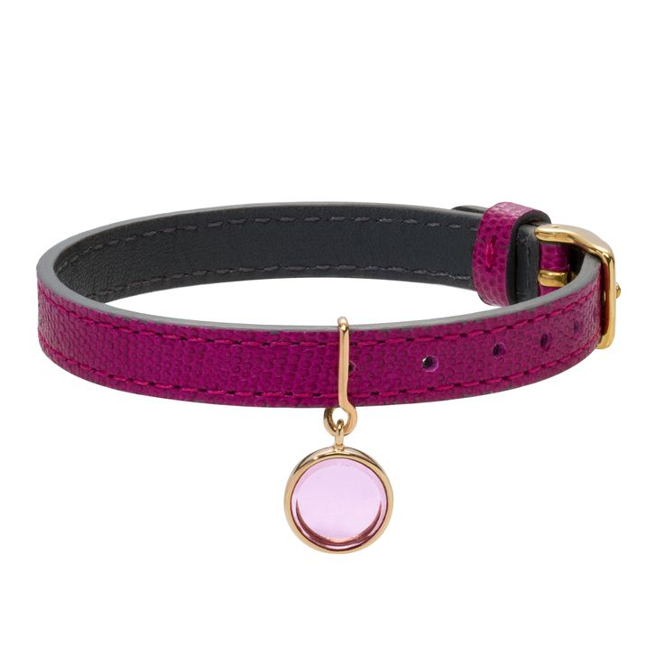Wear a Boheme crystal pendant on your reversible leather bracelet! Chic and original #lilou #bracelet #crystal #boheme #leather #chic #original