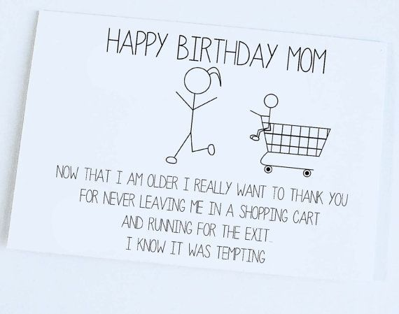 Most Recent Snap Shots Funny Birthday Gifts Tips I M Not Sure Your Self Although It Seems Like In 2021 Mom Birthday Funny Birthday Cards For Mom Funny Birthday Cards