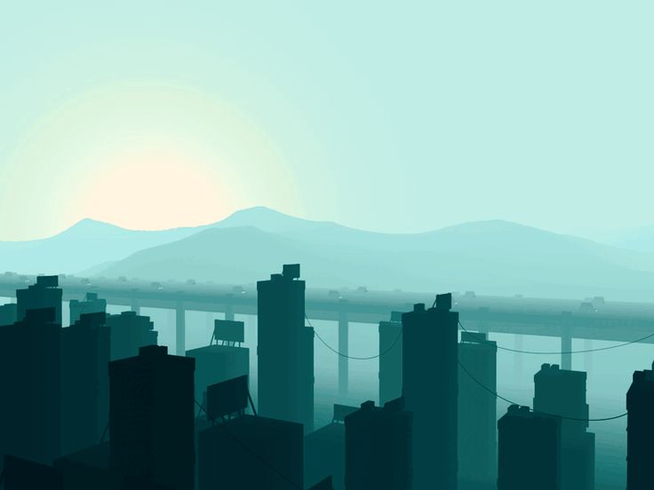 Dribbble - CityRace.gif by Mathew Lucas