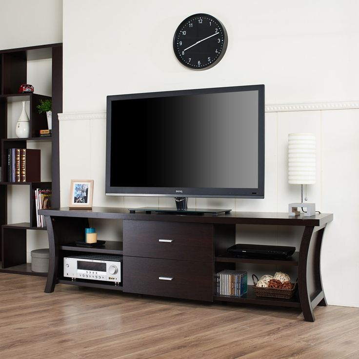 Furniture of America Danbury Modern 2-drawer TV Console - Overstock™ Shopping - Great Deals on Furniture of America Entertainment Centers