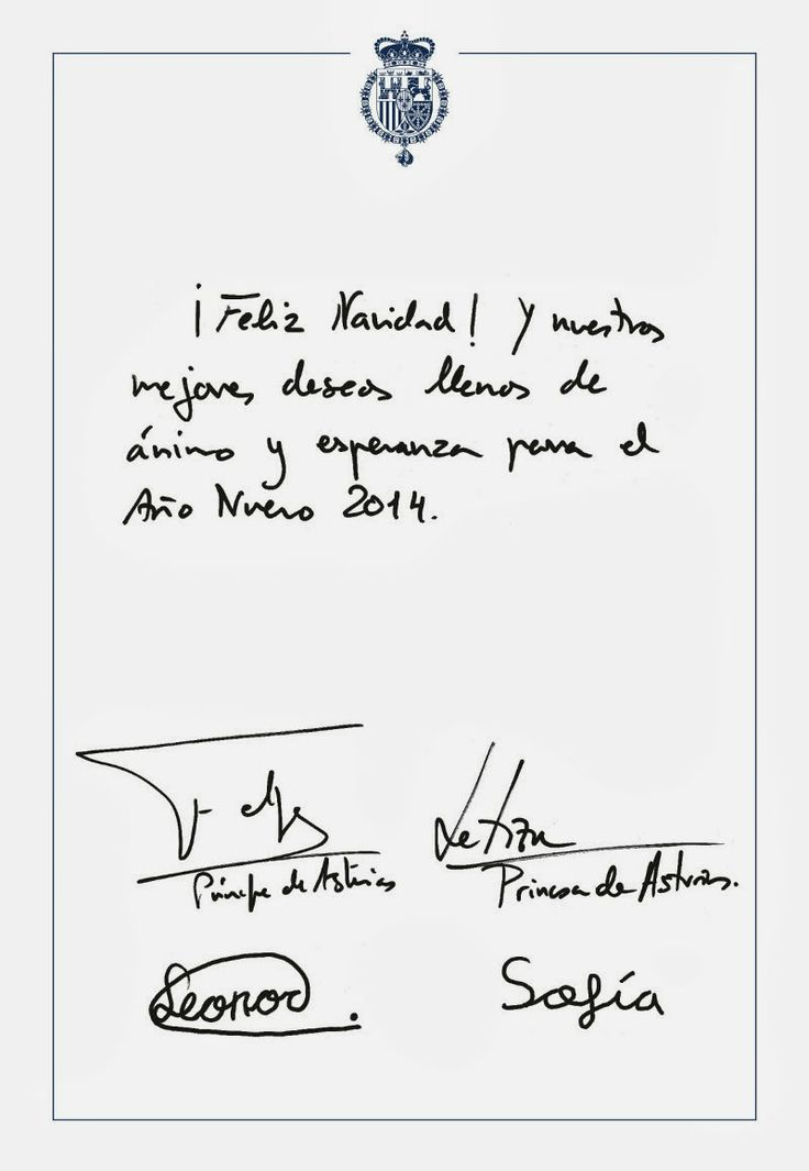 Spanish Royal Family Christmas Cards 2013   European Royalty and ...