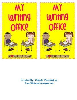 Second Grade Mini Writing Office