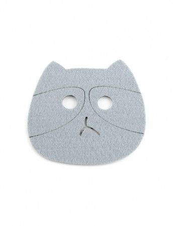 Podkładki Kot Panda Filcowe