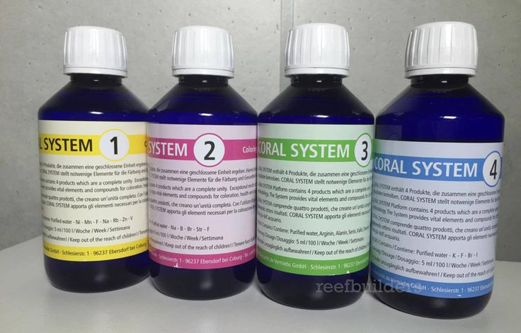 Coral System is a completely new line of aquarium additives from Korallen Zucht, makers of the Zeovitmethod. Unlike the holistic approach of trying to cre