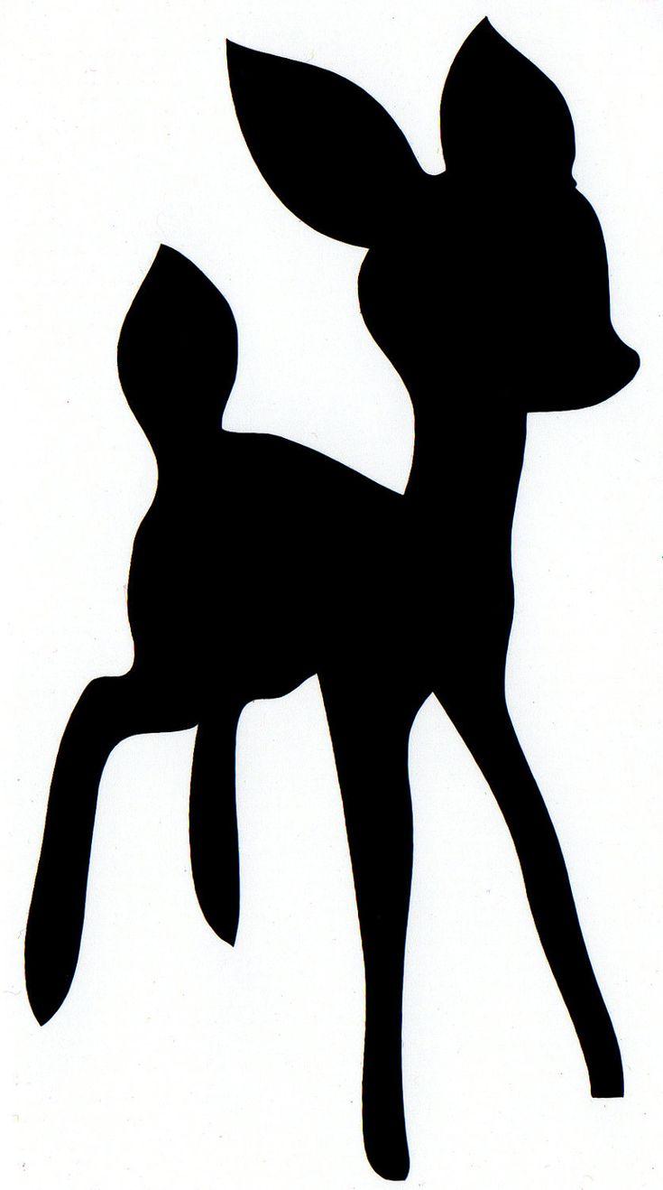 baby deer self adhesive vinyl decal (No.26). $2.75, via Etsy.