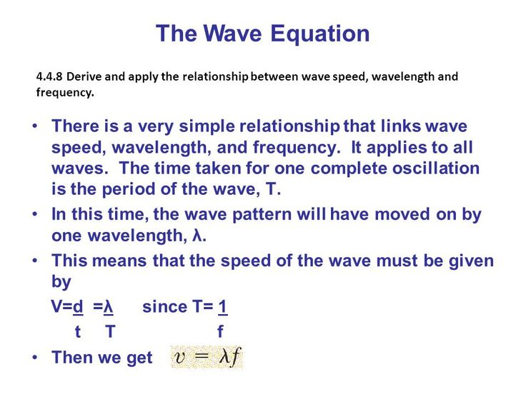 1d. This shows the equation of wave speed equation and i ...