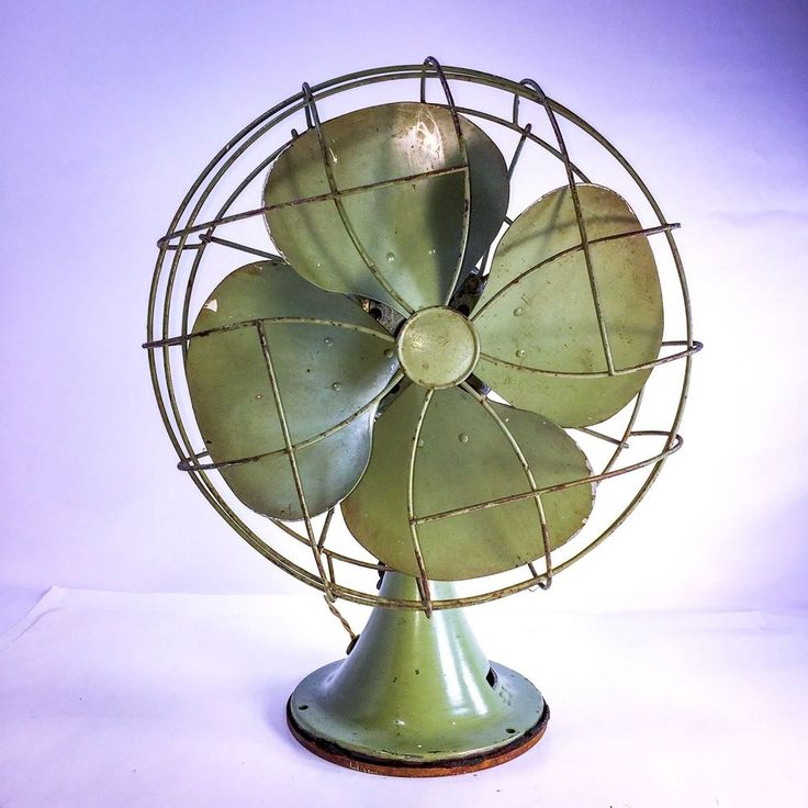 Antique Vintage Emerson Electric 4 Blade Oscillating Fan 77646 AS #Emerson