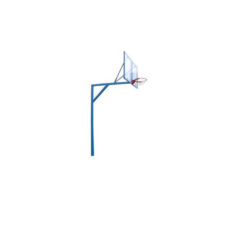 Стойка баскетбольная стационарная Г- образная, уличная