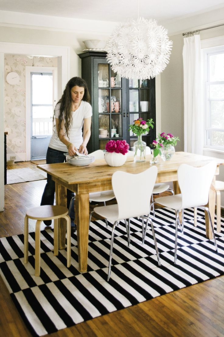 Rustic + modern mix: Dining Rooms, Blends Antique, Rustic Farm Table, Farm Tables, Kitchen, Rustic Modern, Diy Projects