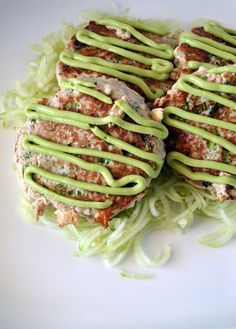 Ahi Tuna Cakes with Avocado Aioli
