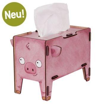 Werkhaus Shop - Tissue-Box Vierbeiner - Schwein