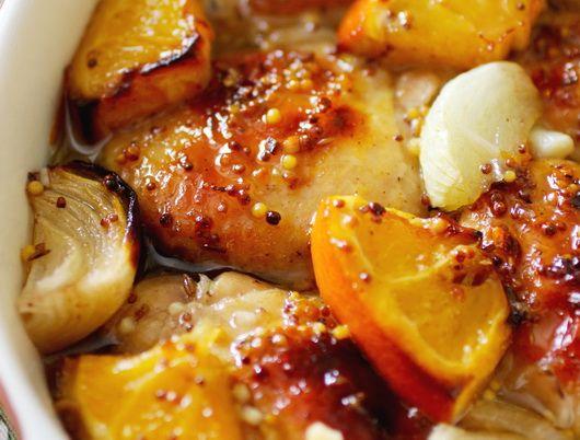 Курица с апельсинами - Коллекция проверенных и новых кулинарных
