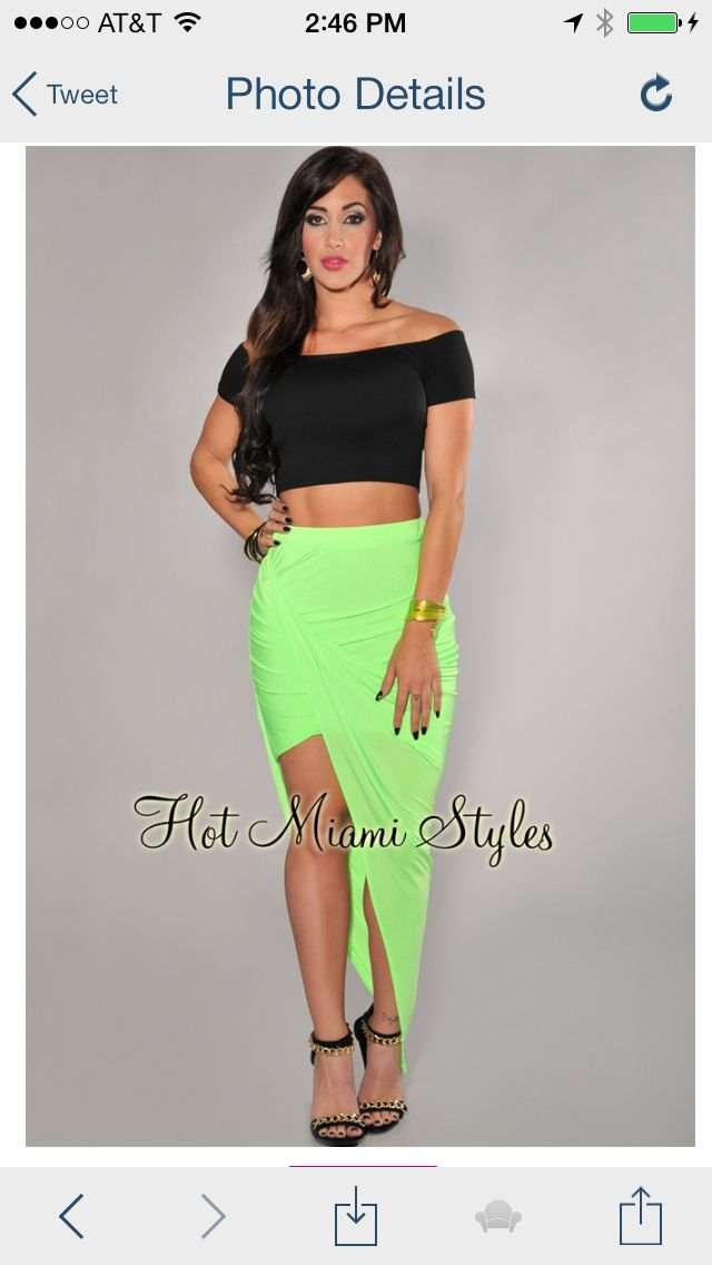 Hot Miami Styles Fashion Swag Pinterest Skirts Style And Miami Style