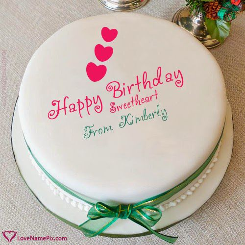 49 best images about Name Birthday Cakes For Lover on ...